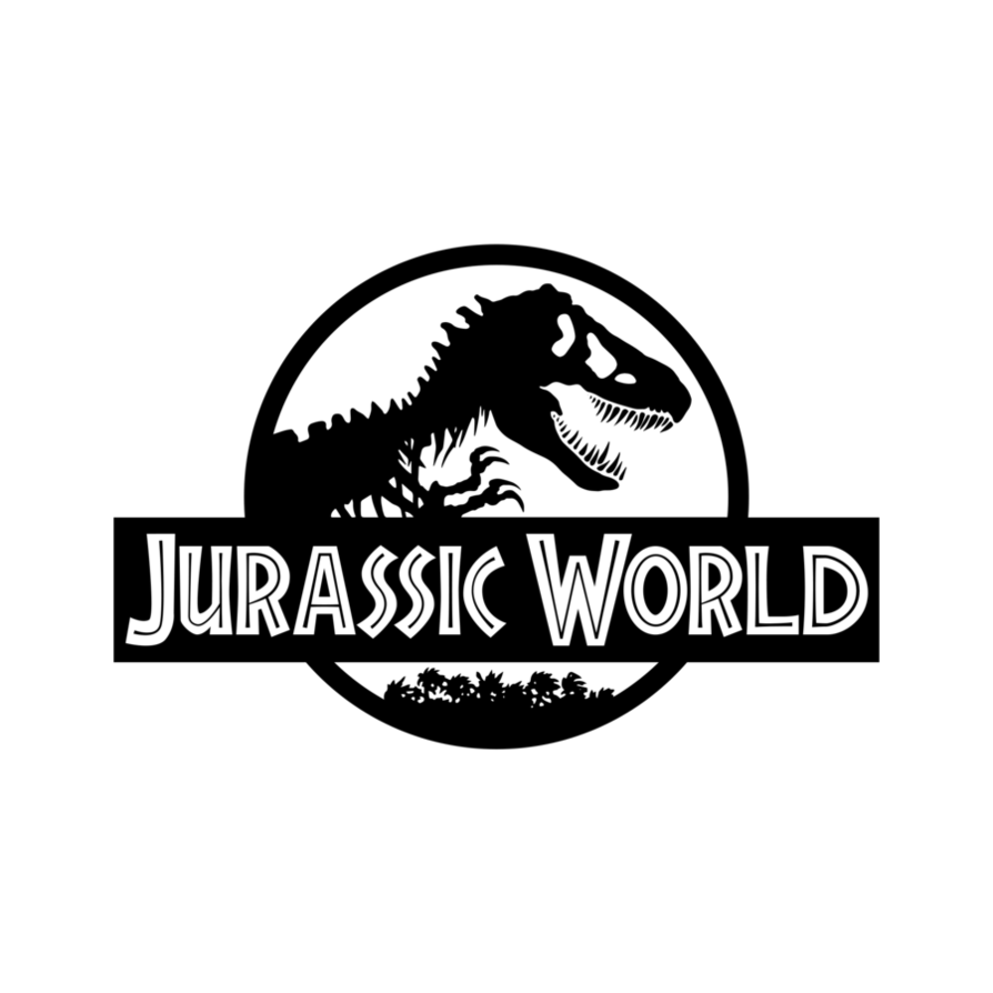 Jurassic World The Movie Original Coloring Logo Kids Pages For Free Coloring And Print Jurassic World Jurassic Park Logo Jurassic Park