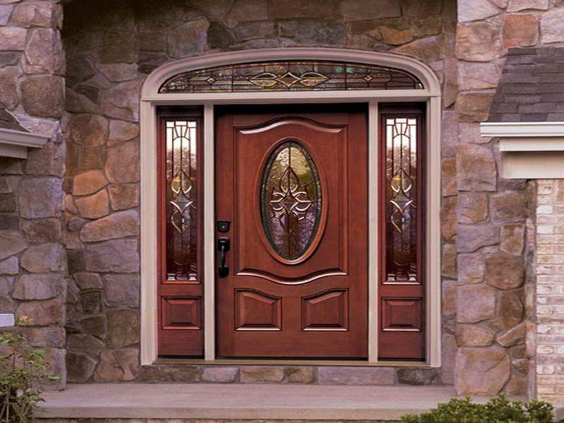 Doors Windows Exterior Door Replacement Stone Wall Design Exterior Door Replacement For Your Home Interi Glass Front Door Fiberglass Door Front Entry Doors