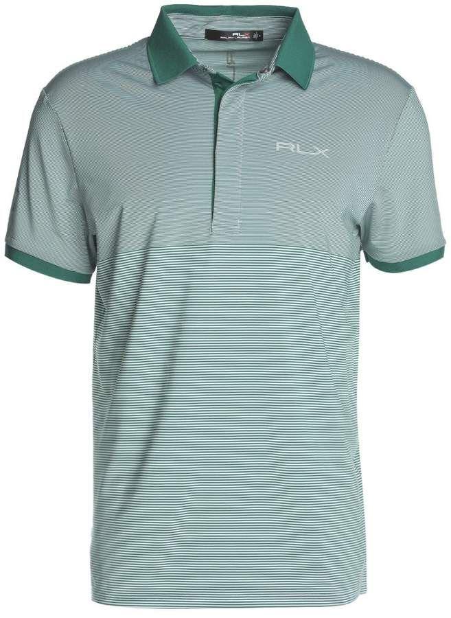 Polo Ralph Lauren Golf AIRFLOW PRO FIT - Polo - pure white/bush green uIgGTn3o4t