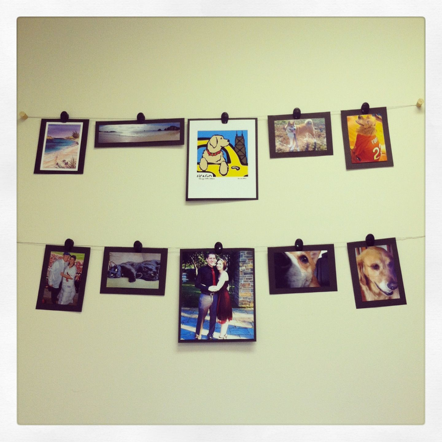 My office wall is no longer blank!! Love the way this turned out! It ...