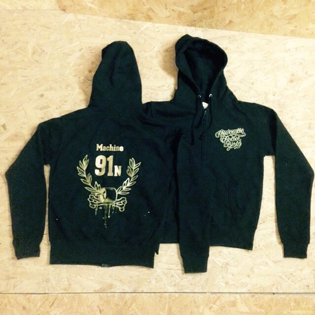 Custom hoodies for Newcastle Roller Girls