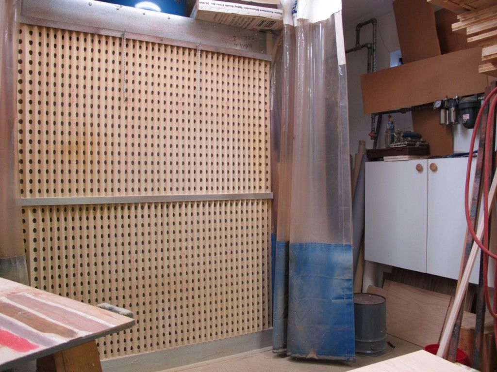 Spray Booth for a Small Shop Popular Woodworking