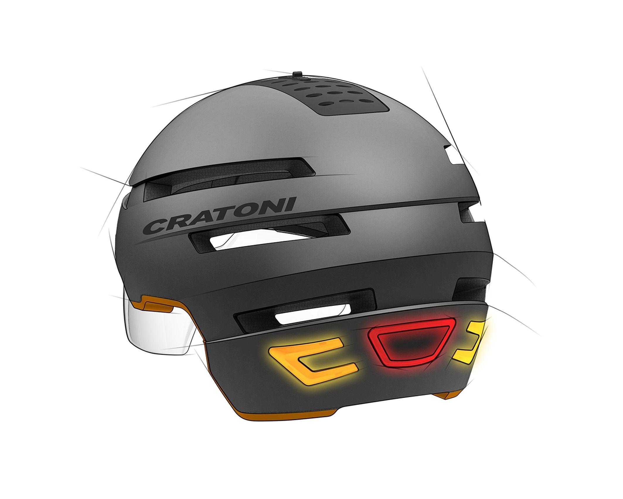 Cratoni C 94 Der Smarte Fahrradhelm Bei Elektrobike