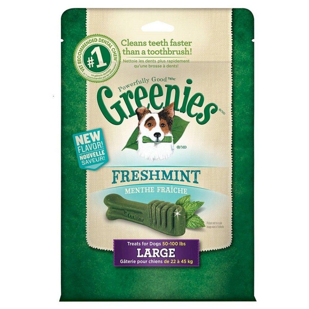 Greenies Dental Treats Mint Treat Pak Greenies dog