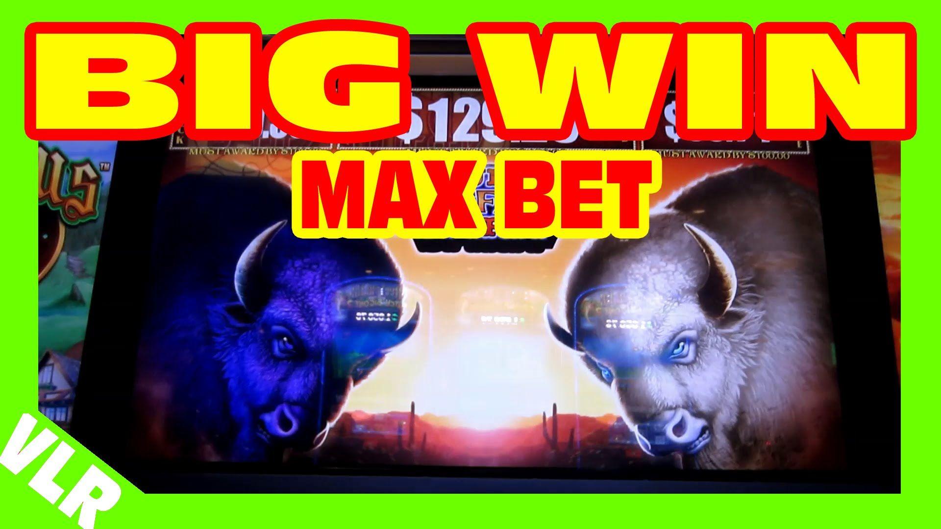 Double Buffalo Spirit MAX BET BIG WIN Slot Machine