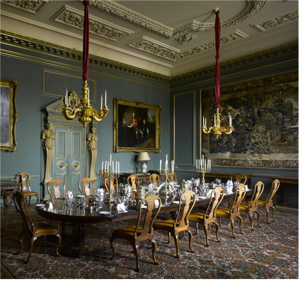 Victorian Breakfast Room: Wilton House Dining Room