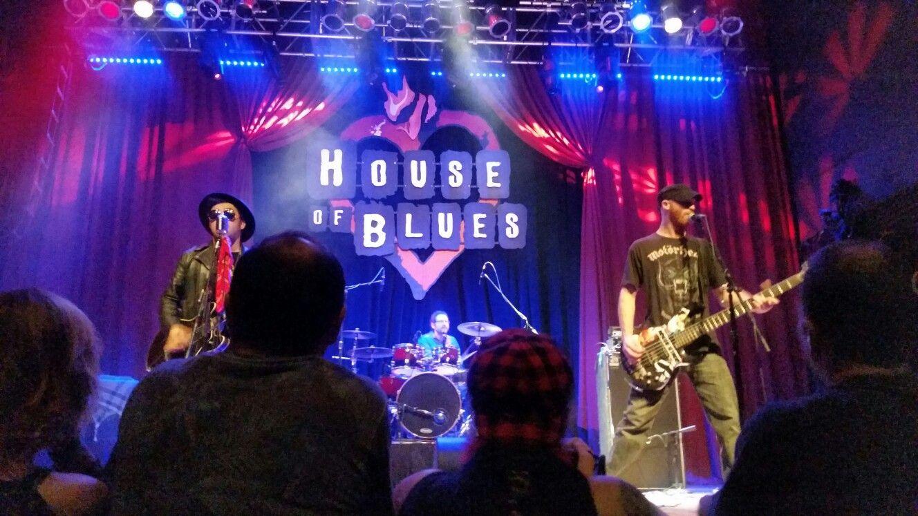House of Blues drinks, music, fun! San diego houses, San