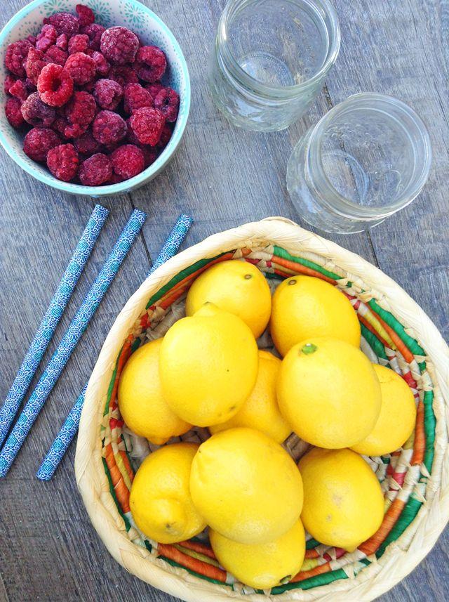 3-Ingredient Frozen Raspberry Lemonade | Healthy Ideas for Kids