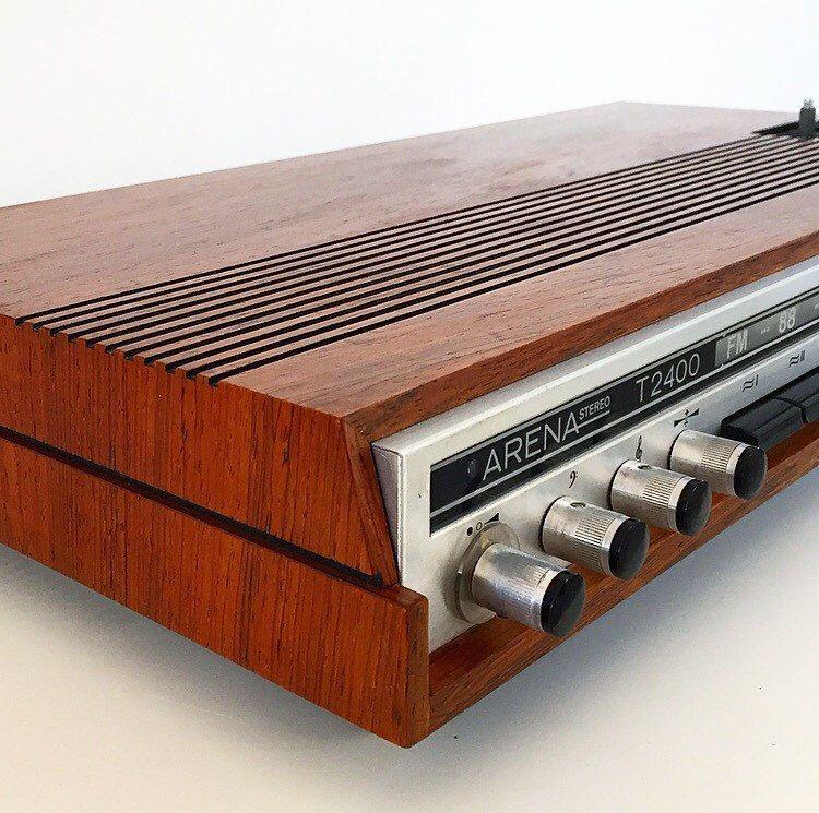 Dänische Vintage Radio set mit zwei passenden Lautsprechern in Palisander von Deerstedt auf Etsy https://www.etsy.com/de/listing/290685159/danische-vintage-radio-set-mit-zwei