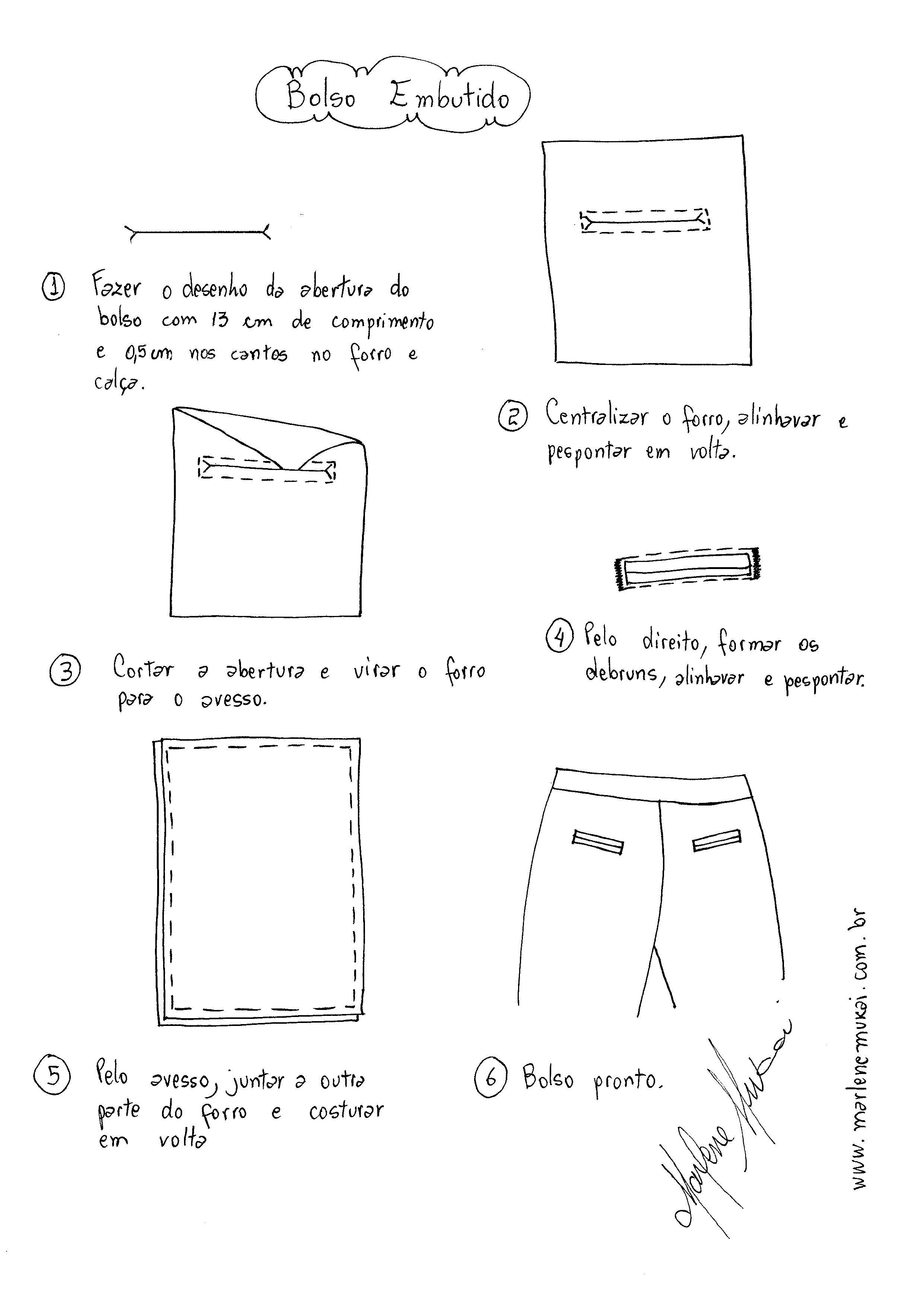 Bolso Embutido | Patrones | Pinterest | Esquemas, Bolsos y Costura