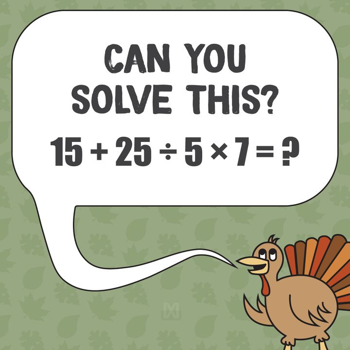 It\'s not as easy as it looks! Post your answer in the comments ...