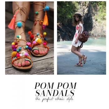 Las sandalias que son tendencia