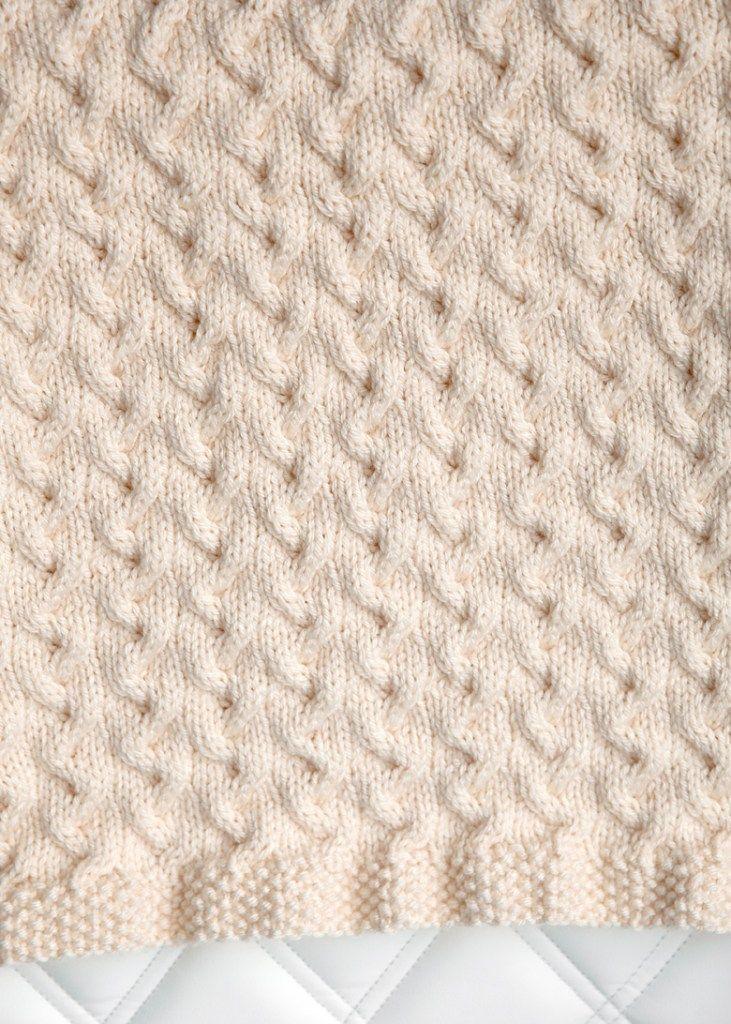 Free Baby Blanket Knitting Pattern 3 | knitting | Pinterest ...