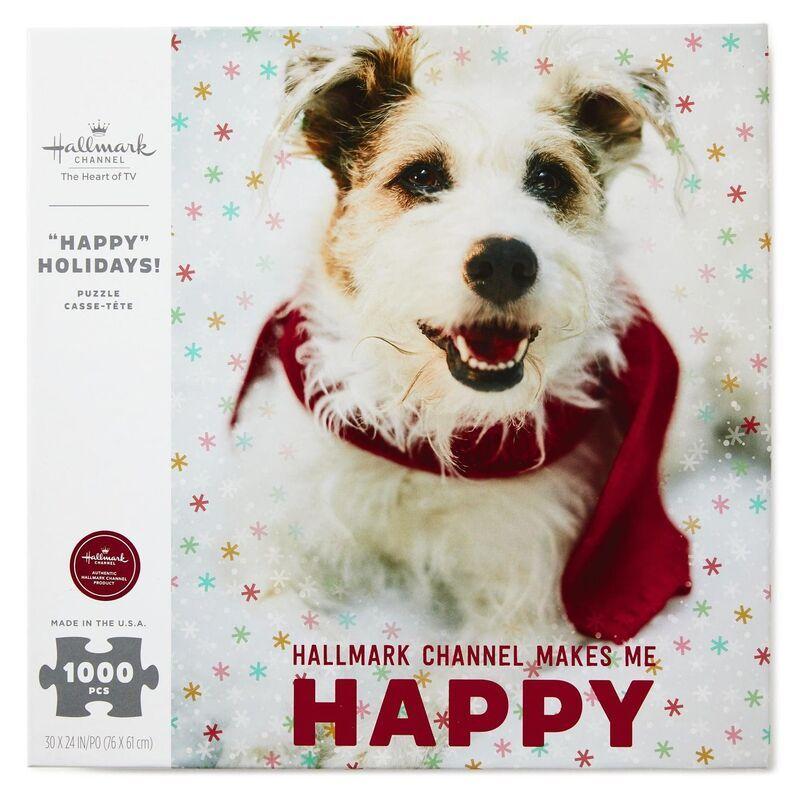 Hallmark Channel Happy The Dog 1000 Piece Puzzle Hallmark