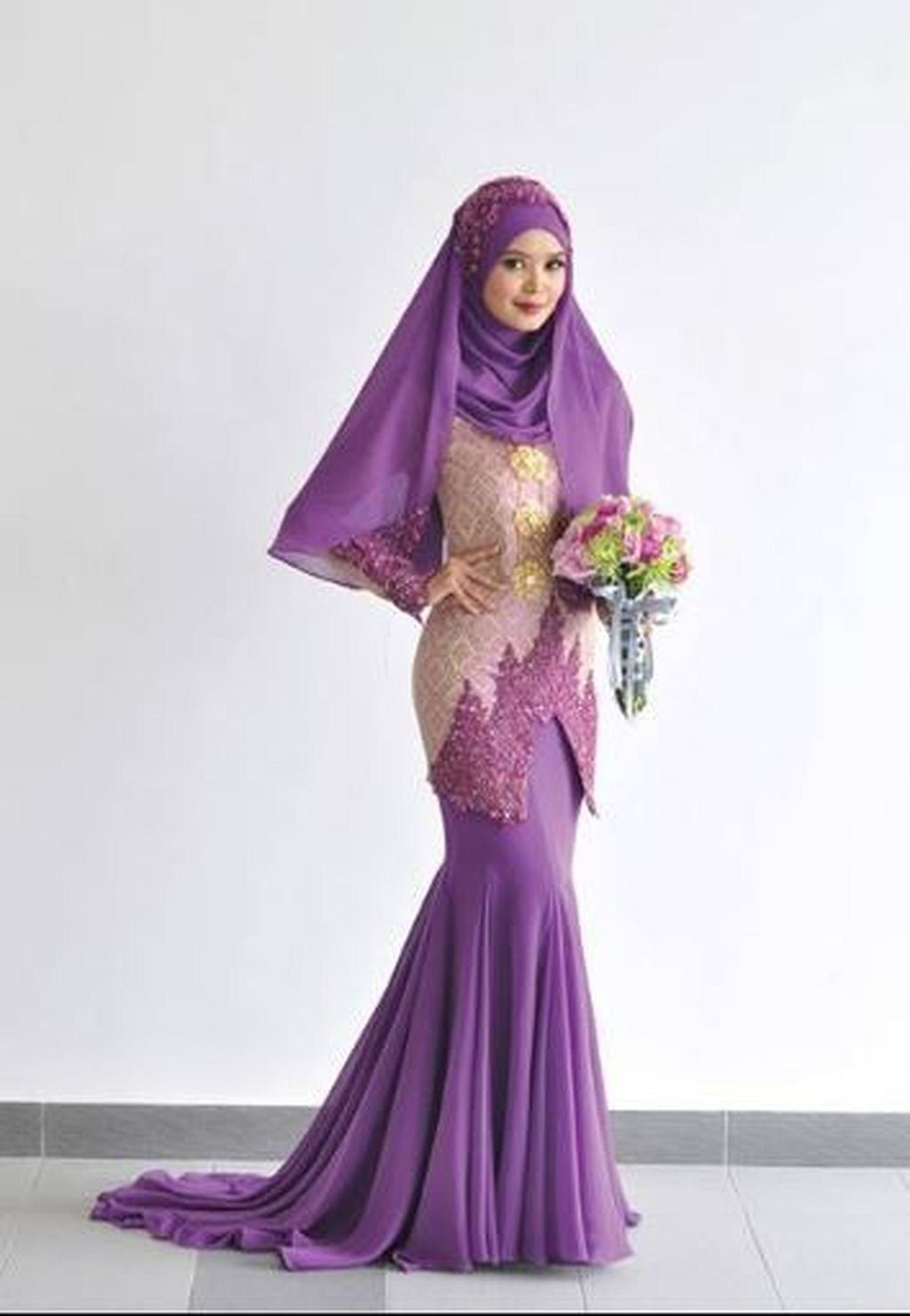 8+ Wedding Moslem Dress Inspiration  Pose pengantin, Pengantin