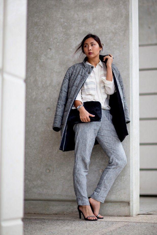 12 Stylish Ways to Wear Puffer Coats in Boston Blizzards
