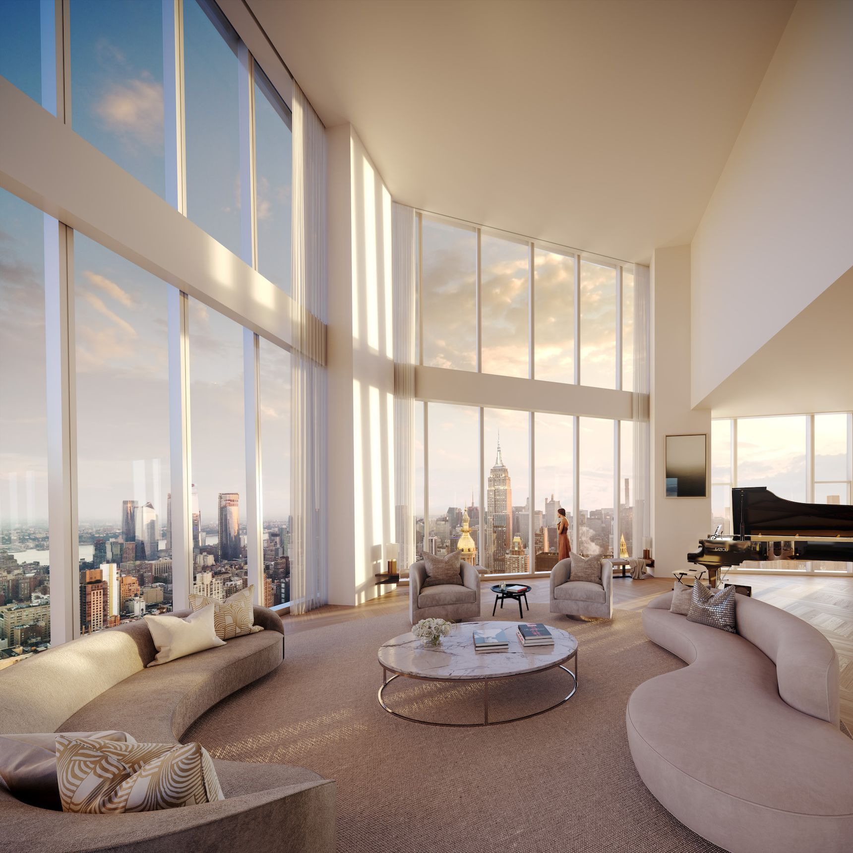 Madison Square Park Tower's breathtaking penthouse
