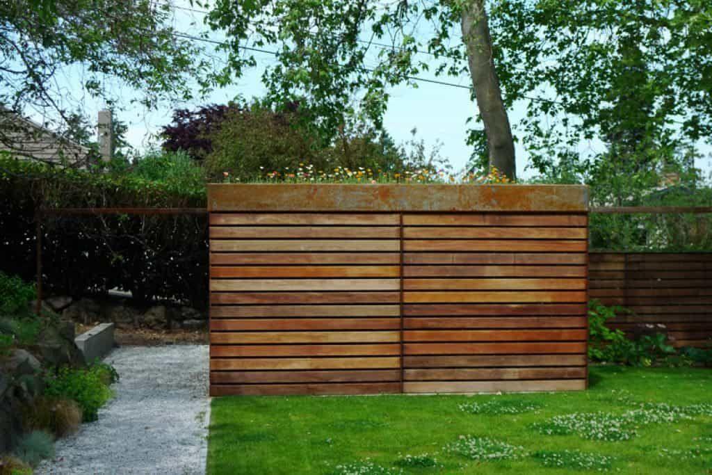 Modern Garden Shed With Sliding Door -   12 modern garden pavilion ideas