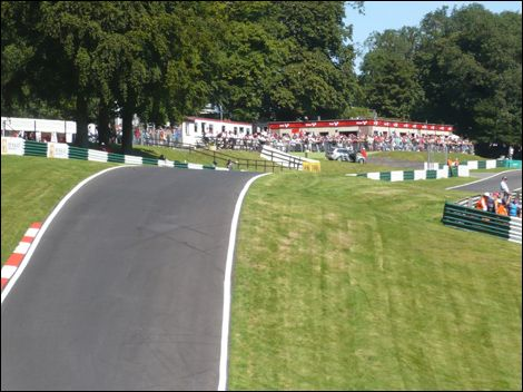 Cadwell Park is in Lincolnshire. That section of Cadwell is called 'The Mountain'.