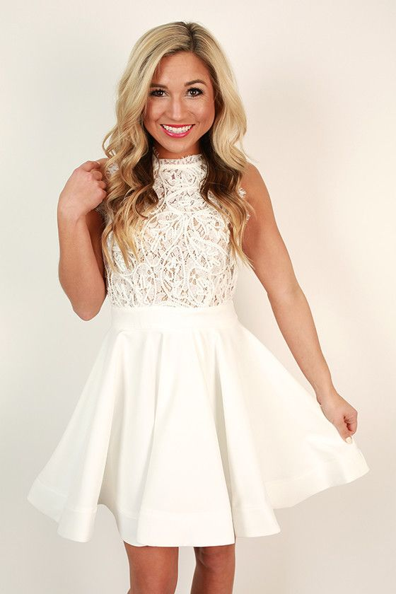 Love me like you do dress in white bridal showers for Dress for wedding shower
