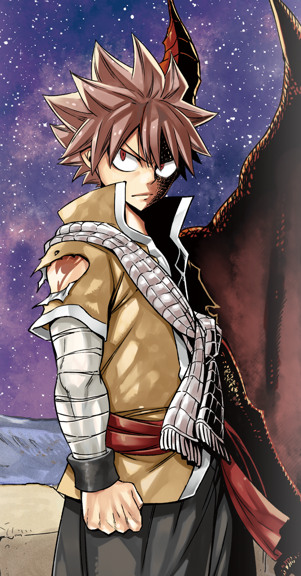 Natsu dragneel in dragon cry the second fairy tail movie - Image de fairy tail natsu ...
