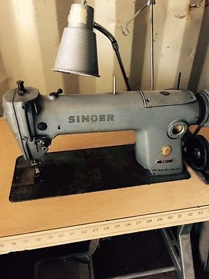 singer 281 1 commercial industrial sewing machine w table business
