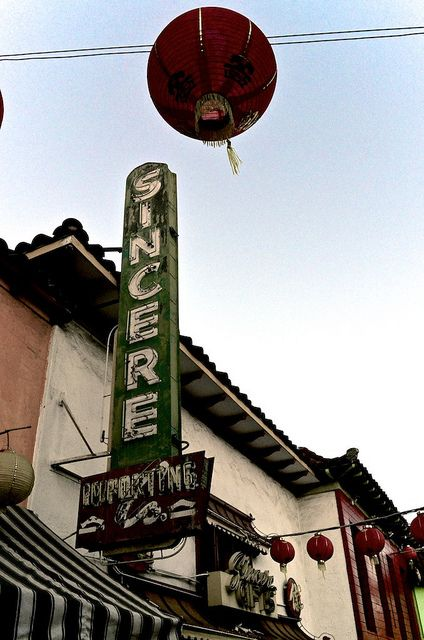 "Chinatown Walk About - ""Sincere Importing"" by Mad Peruvian Media, via Flickr"