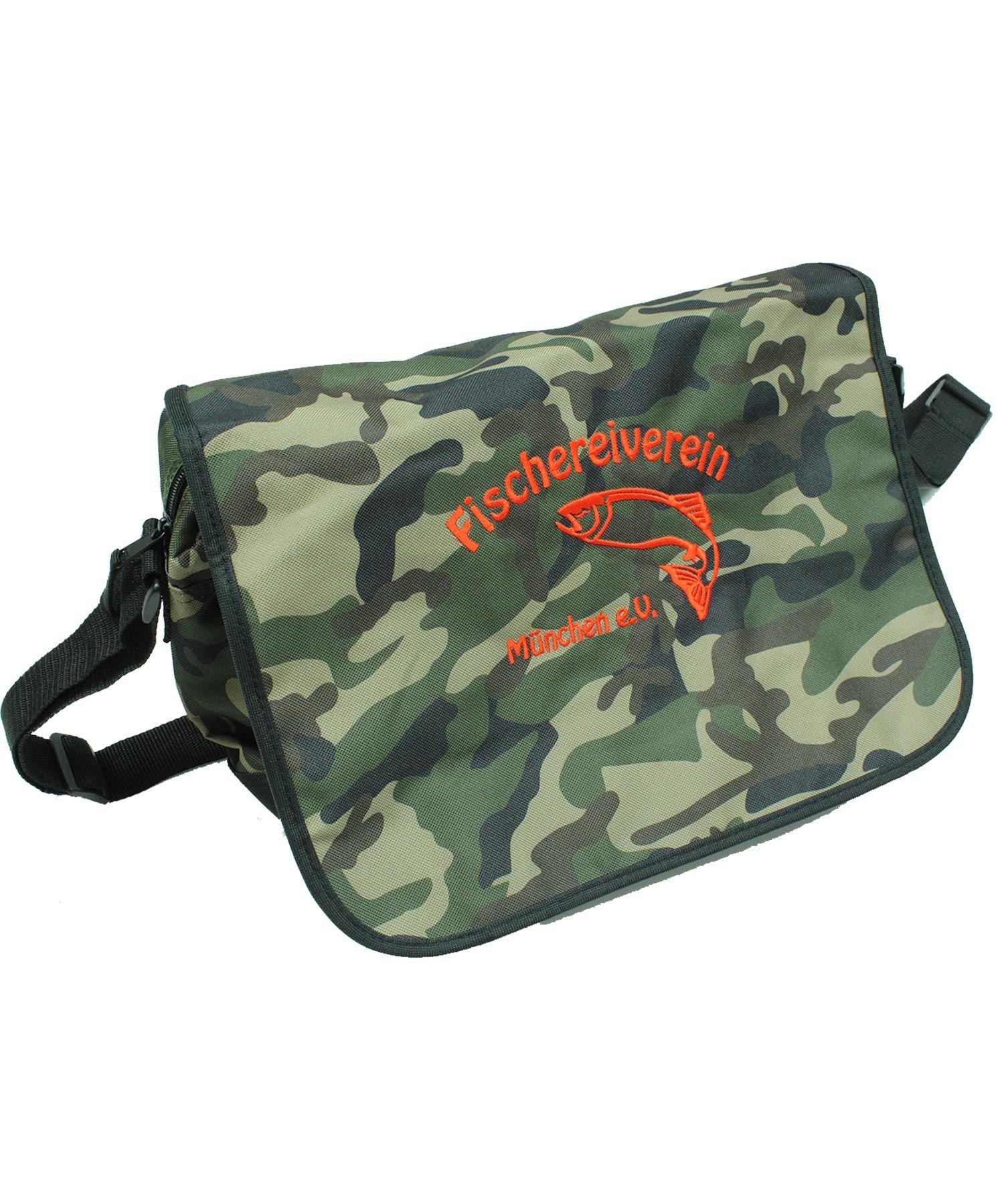 Die Tasche gibt es auch im Camouflage Look.