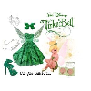 Disney prom: Tinkerbell