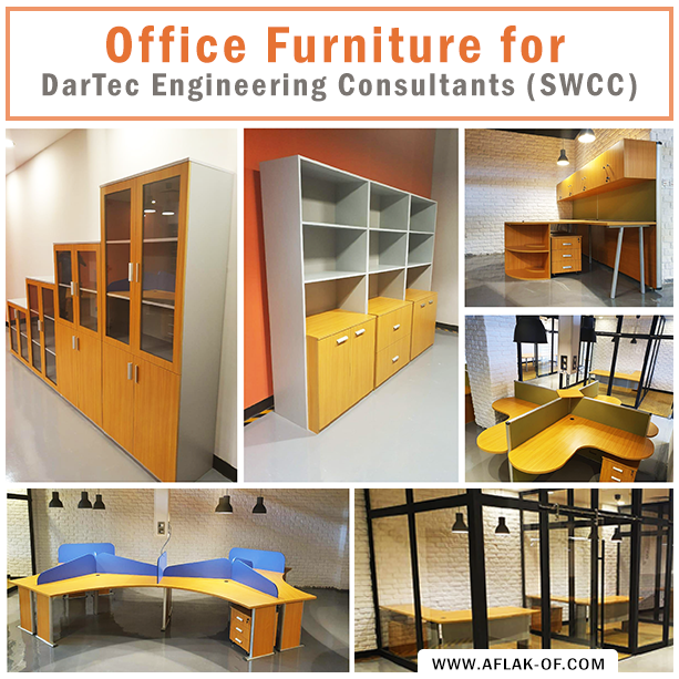 #OfficeFurniture Installation By #Aflak For One Of Its