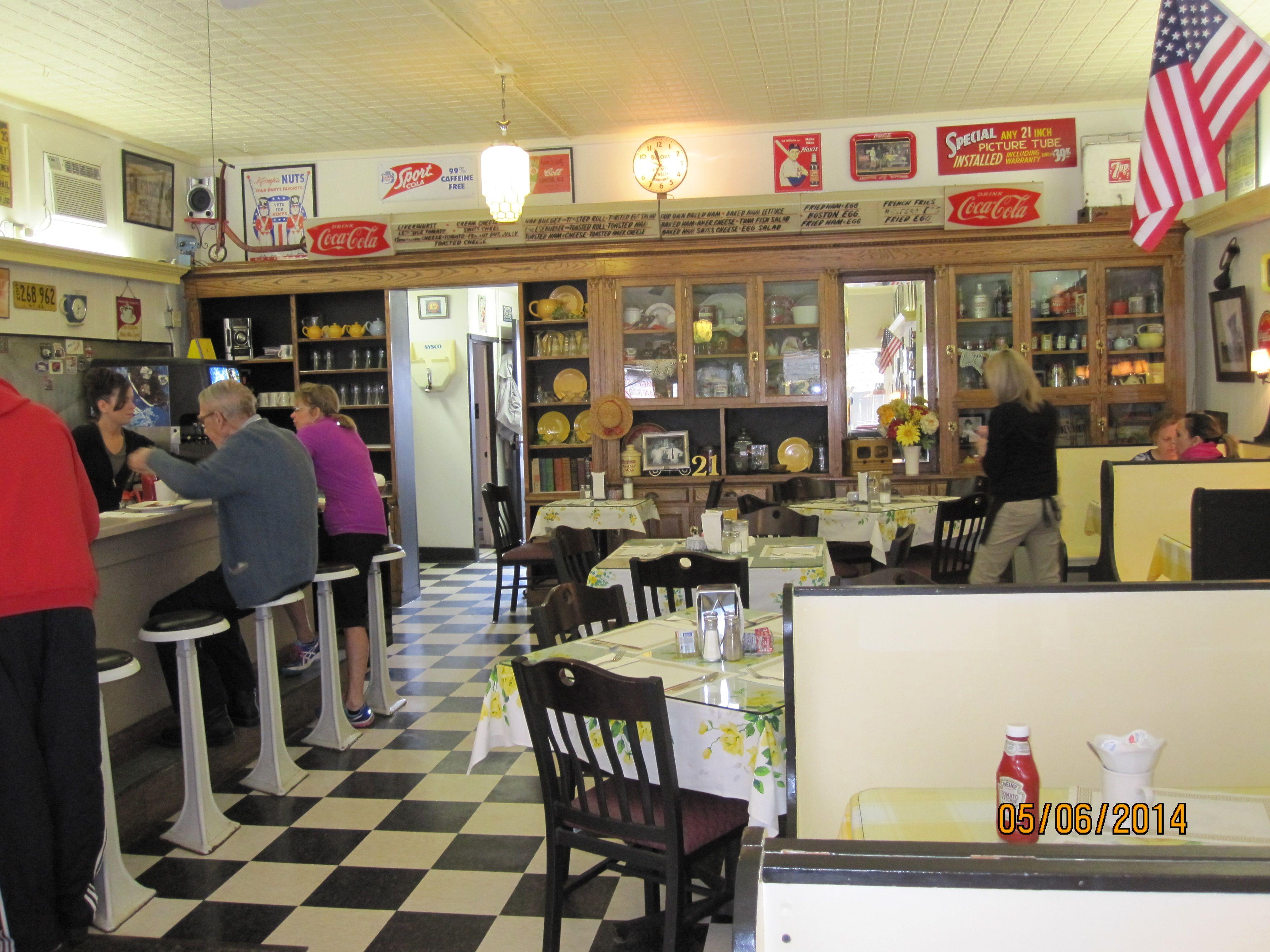Johnstown Ny New York Johnstown Retro Cafe Vintage Cafe