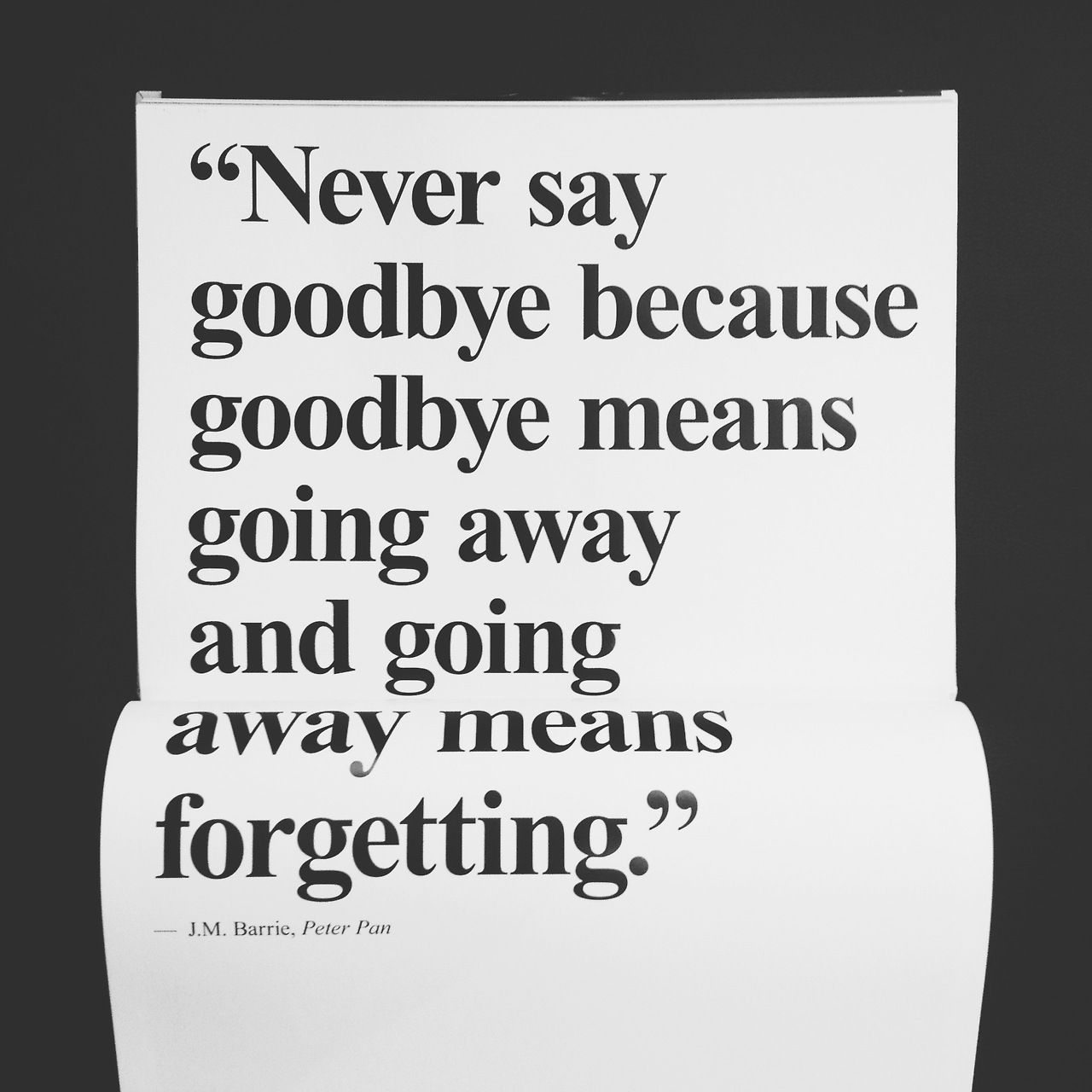 saying goodbye to your ex