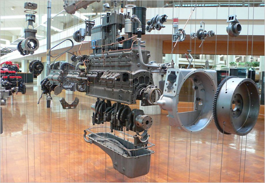 Exploded View of Car Engines   Cars   Pinterest   Exploded view, Car ...