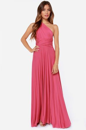 9dc4fe930e Exclusive Tricks of the Trade Rose Pink Maxi Dress | Wedding Inspo ...