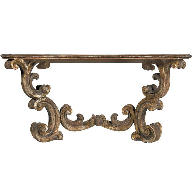 The Best Console Tables, An Ever Essential Component, Curated By Bernard  Magazine Includes Baroque By Dennis U0026 Leen, A Gilded Scene Stealer.