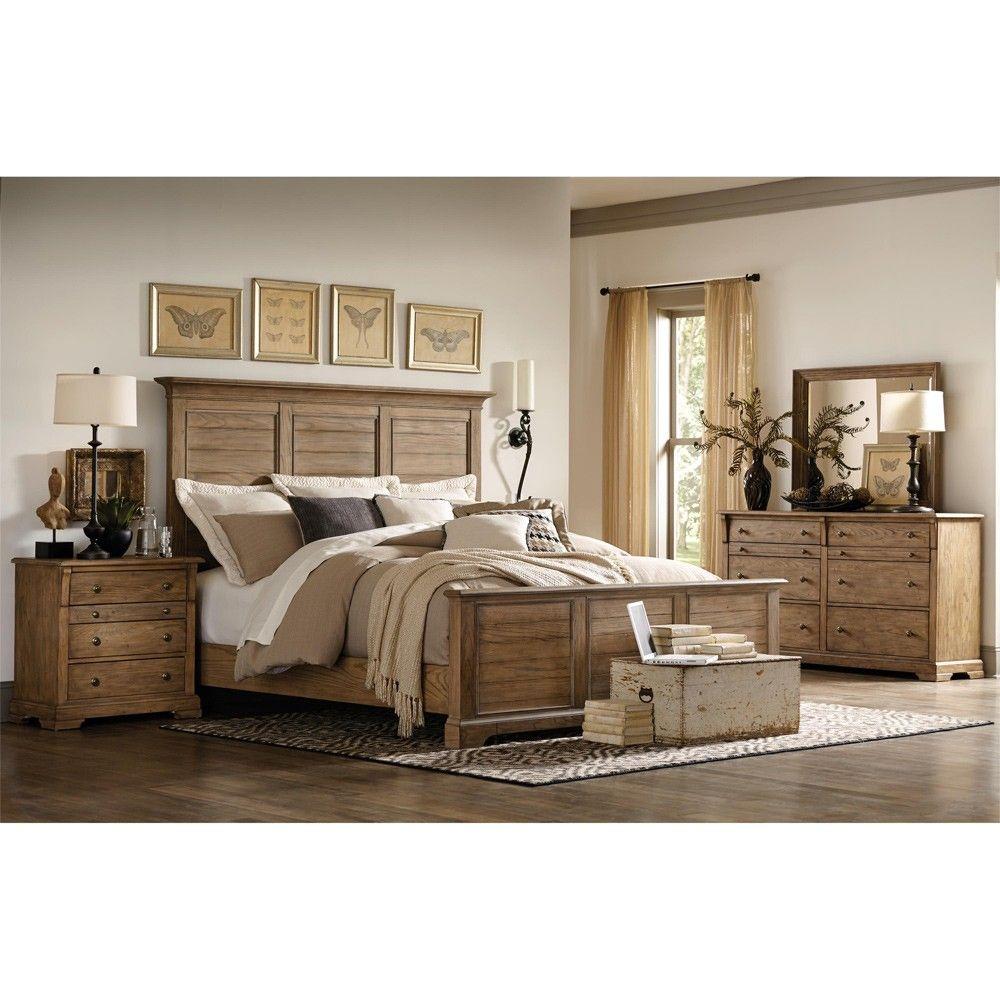 Riverside Furnitureu0027s Sherborne Wood Panel Bedroom Furniture Set By Humble  Abode Made Of Hardwood And Beautiful