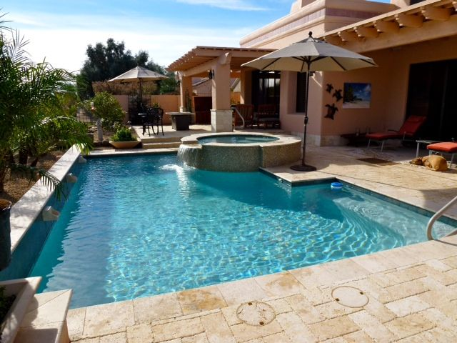 Contemporary Arizona swimming pool design | Build Your Own Pool ...