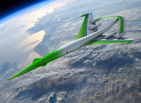 Supersonic Green Machine by Lockheed Martin/NASA via nationalgeographic #Aircraft #Green_Machine #Lockheed_Martin #nationalgeographic