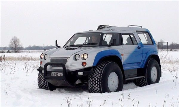 Russian Offroad Vehicle Aton 32