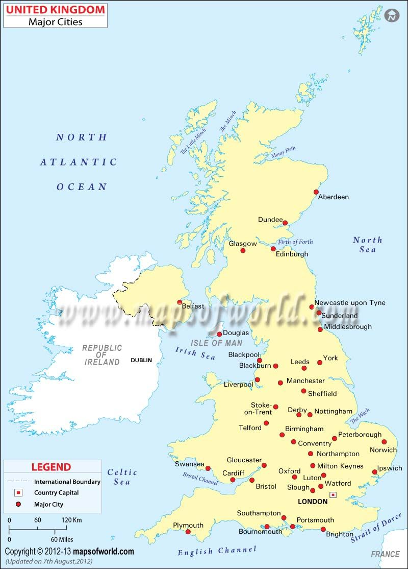 United Kingdom On The World Map.United Kingdom Cities Map World Maps Pinterest Map Map Of