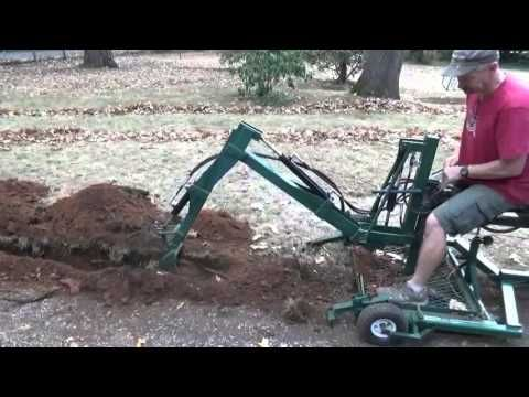 New Tow Able Backhoe Trenching Youtube Traktor