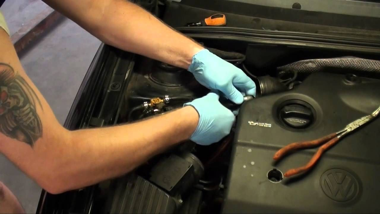 diesel fuel filter replacement vw jetta tdi [ 1280 x 720 Pixel ]