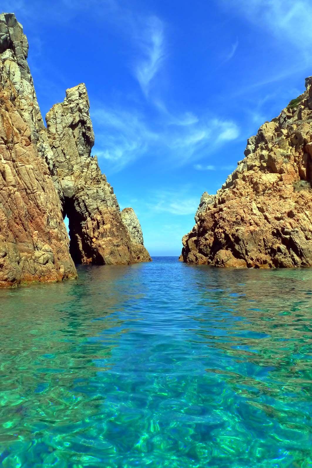 Cap rossu una piscina naturale 1 e francia corsica for Piscina naturale