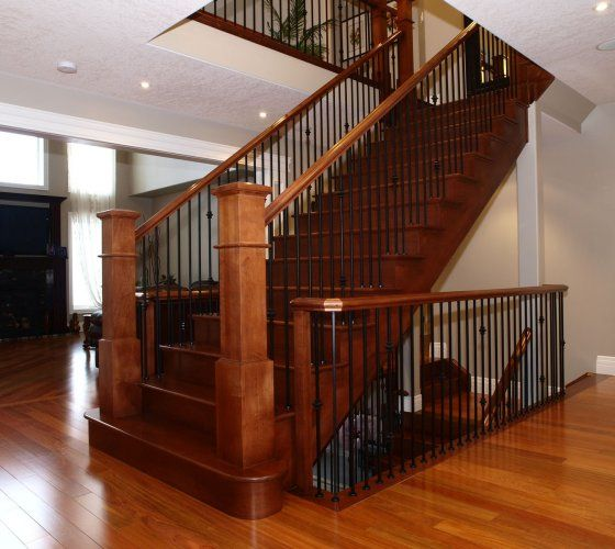 Beautiful Interior Staircase Ideas And Newel Post Designs: Railings, Spindles, And Newels