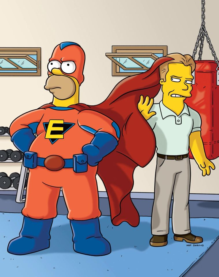 Homer Simpson is Everyman.
