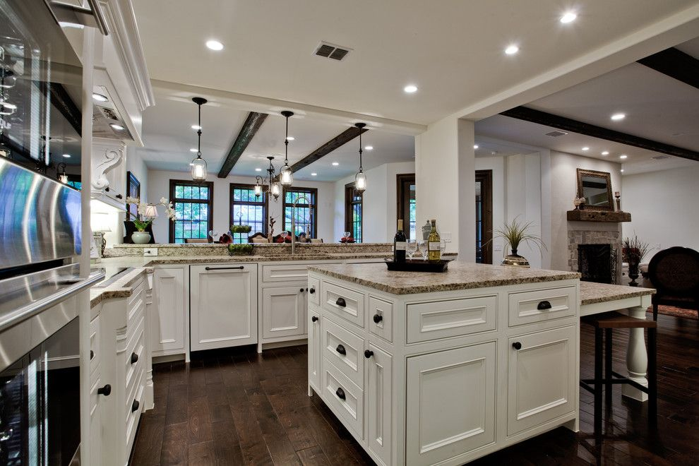 6622 Norway Road, Preston Hollow, Dallas TX - mediterranean - kitchen - dallas - Bauhaus Custom Homes