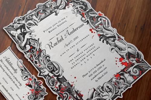 Zombie Wedding Gifts: Pin By Jackie Sherman On Invites! In 2019