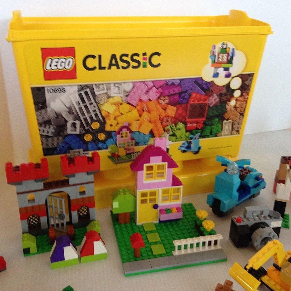 Lego Classic 10698 Large Creative Brick Box With Original