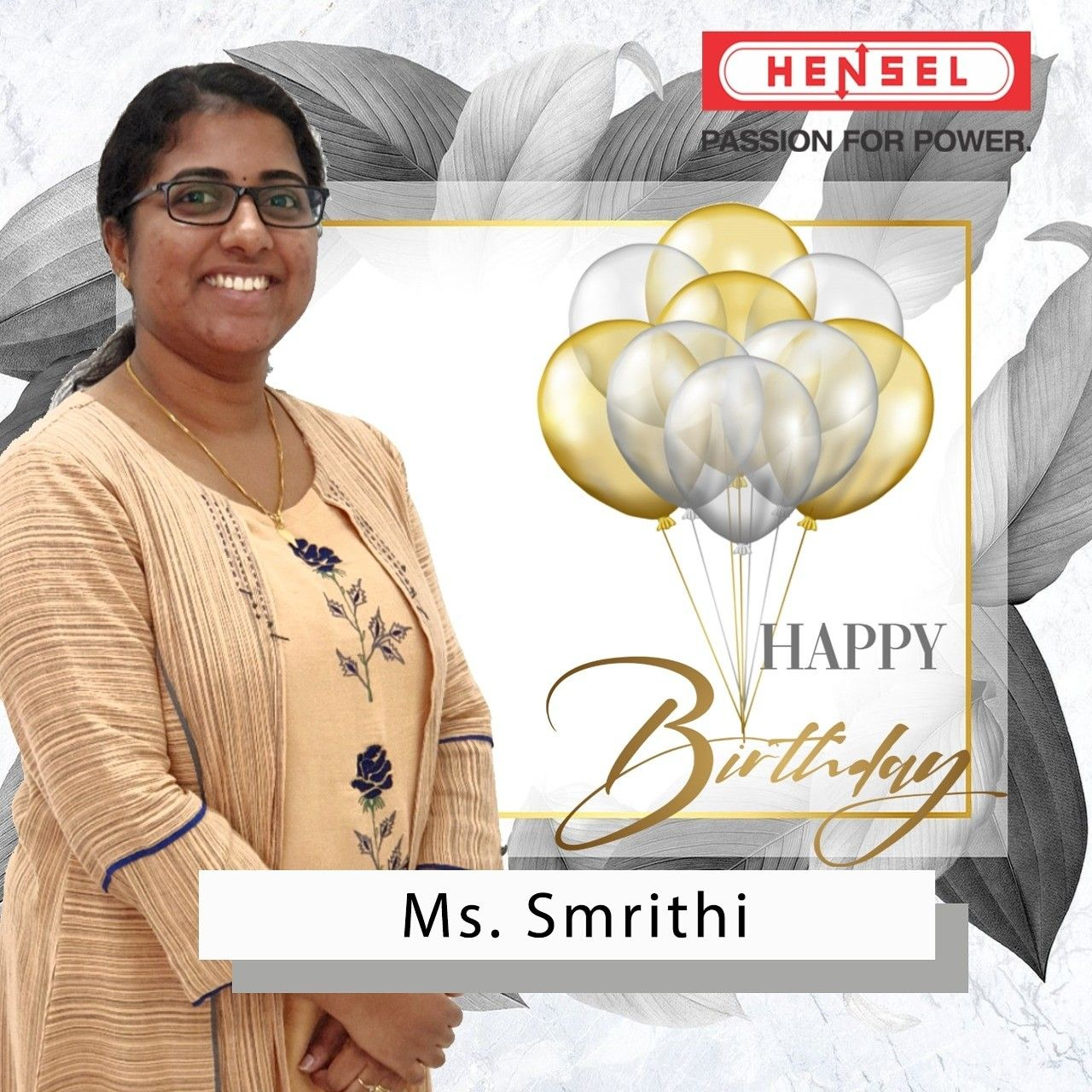 Happy Birthday Ms. Smrithi. May God bless you with good