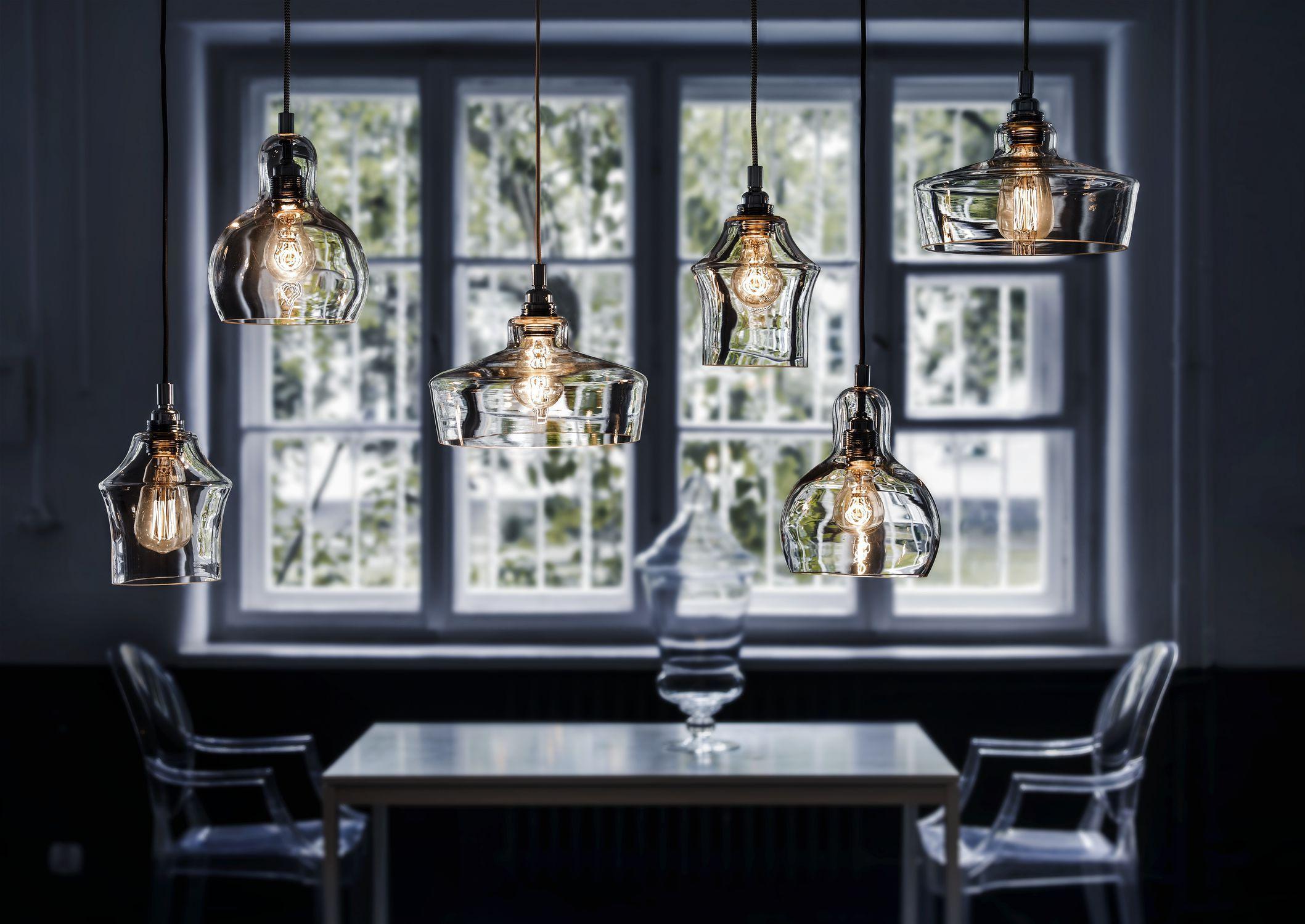 Küchenlampe Modern ~ Hänge lampe modern für innenbereich transparent longis ii